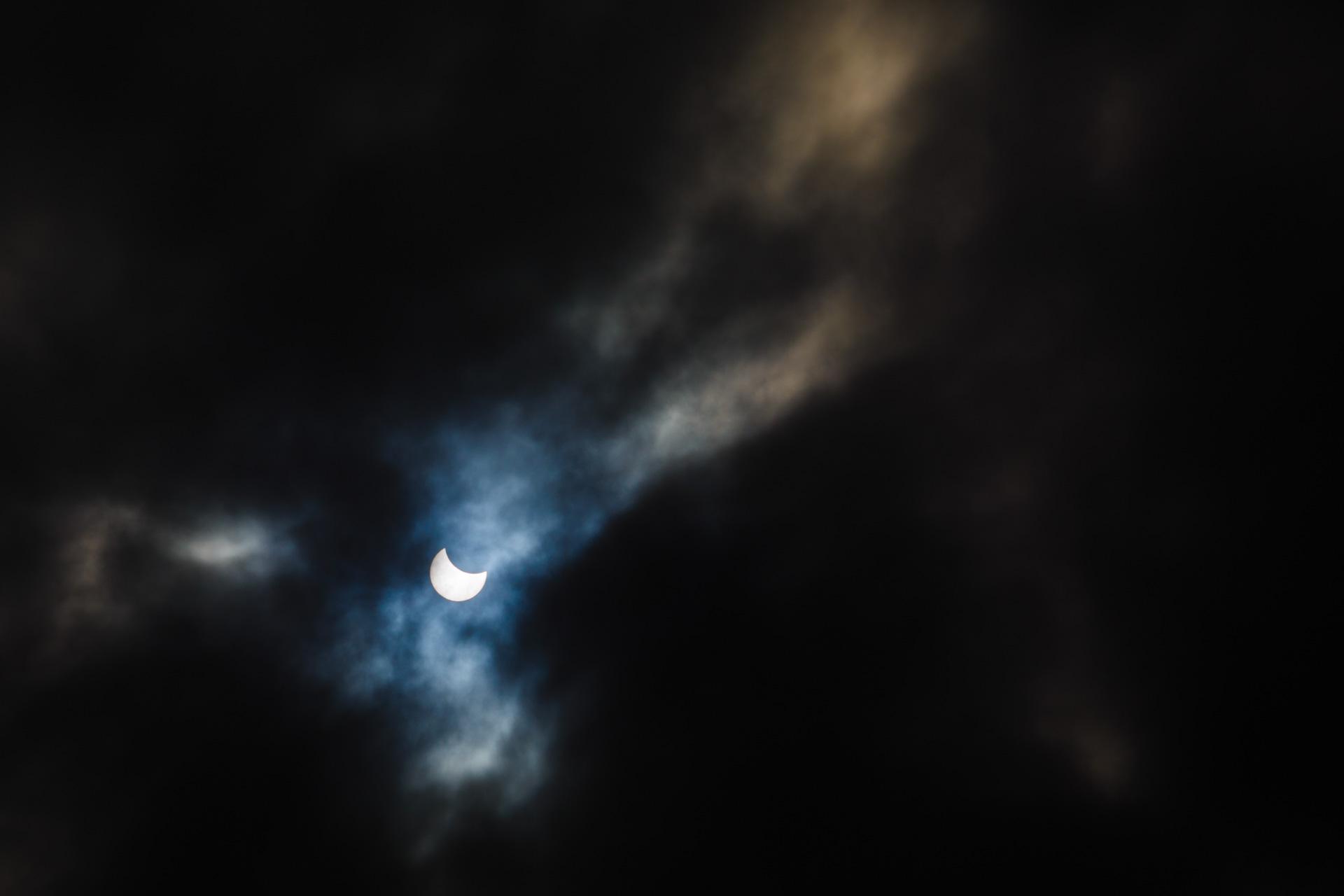 Fotografii cu eclipsă